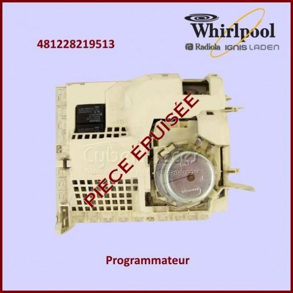 Programmateur Timer SC1, 1000 - Whirlpool 481228219513 ***Pièce épuisée***