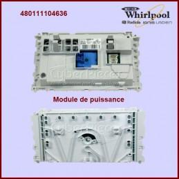 Carte électronique de commande DOMINO Whirlpool 480111104636 GA-175449