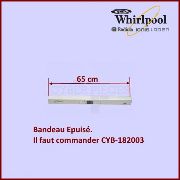 Bandeau + module 65cm 481245228575 *** Pièce épuisée ***