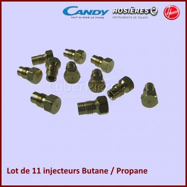 kit injecteurs butane propane 91963348 pour injecteurs buses fours ou cuisinieres cuisson. Black Bedroom Furniture Sets. Home Design Ideas