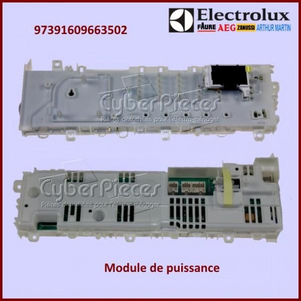 module configur electrolux 97391609663502 pour seche. Black Bedroom Furniture Sets. Home Design Ideas