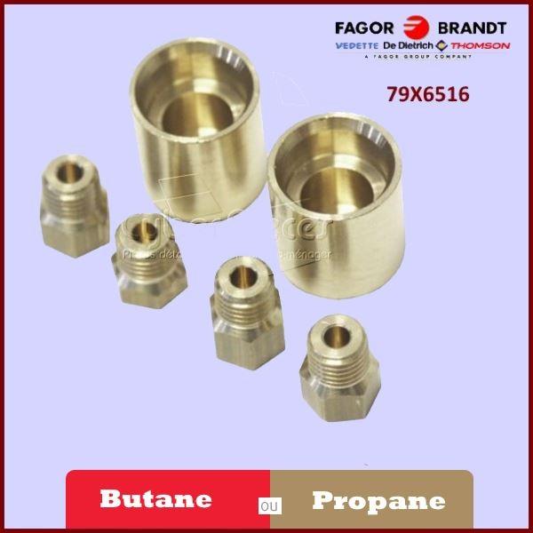 Kit d'injecteurs Butane Propane Brandt 79X6516