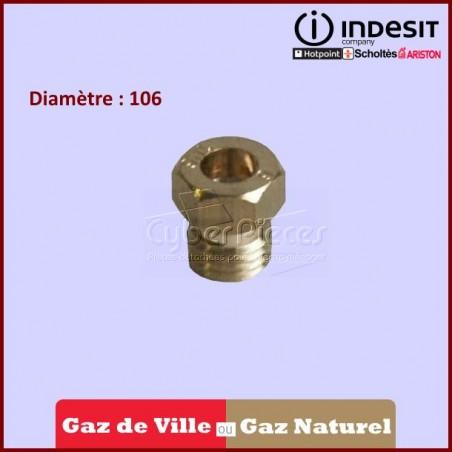 Injecteur AUXILIAIRE GZ35 D.106  Gaz Nat. C00057740
