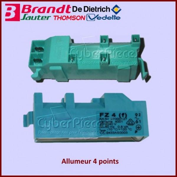Générateur allumeur 4 points + 2 fils Brandt C660012B3