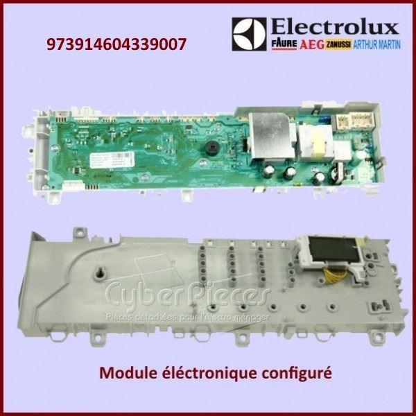 Module électronique configuré Electrolux 973914604339007