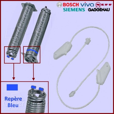 Kit Ressorts + Câbles 00754867 BOSCH SIEMENS