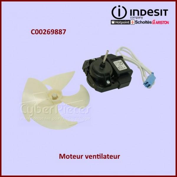 Moteur ventilateur 220/240V 4.3W Indesit C00269887