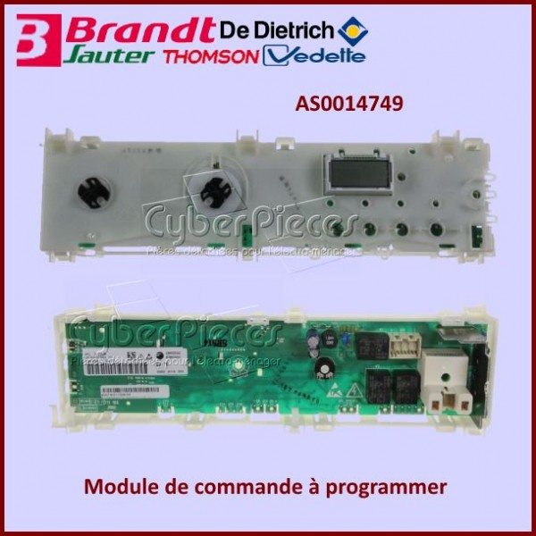 Carte de commande Brandt AS0014749