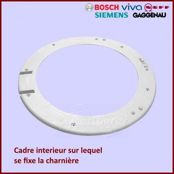 Cadre intérieur de hublot Bosch 00432074