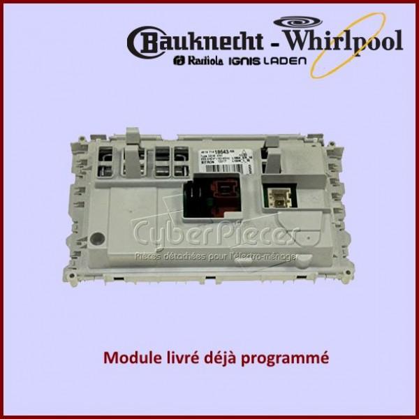 Platine de commande Whirlpool 480111104635