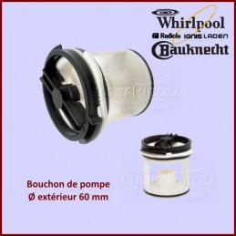 Bouchon de pompe seul Whirlpool 481936078363 CYB-000451