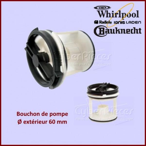 Bouchon de pompe seul Whirlpool 481936078363