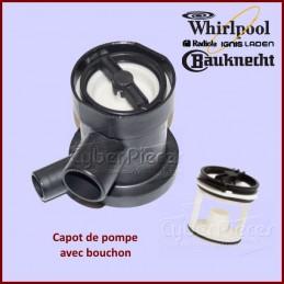 Capot de pompe Whirlpool 481936078363 CYB-085595