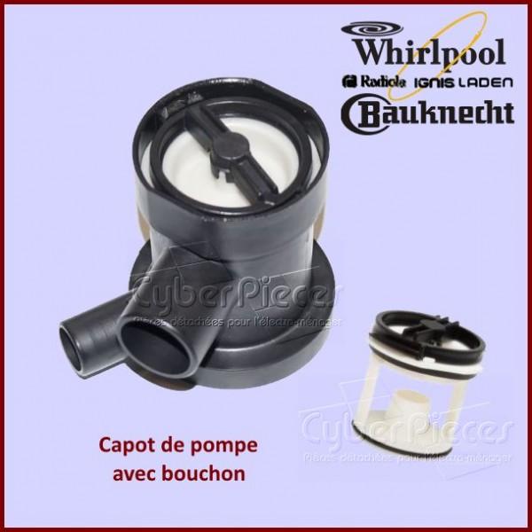 Capot de pompe Whirlpool 481936078363
