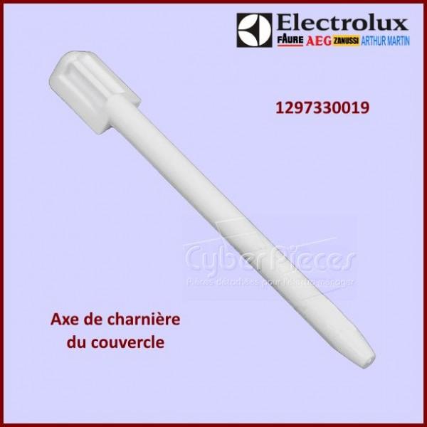 Axe charnière de couvercle Electrolux 1297330019