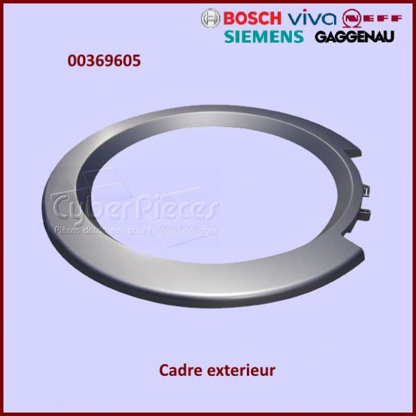 Cadre extérieur de hublot Bosch 00369605