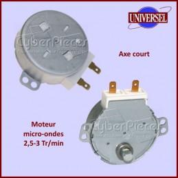 Moteur de micro-ondes 2,5 à 3TR/MIN avec axe court CYB-139670