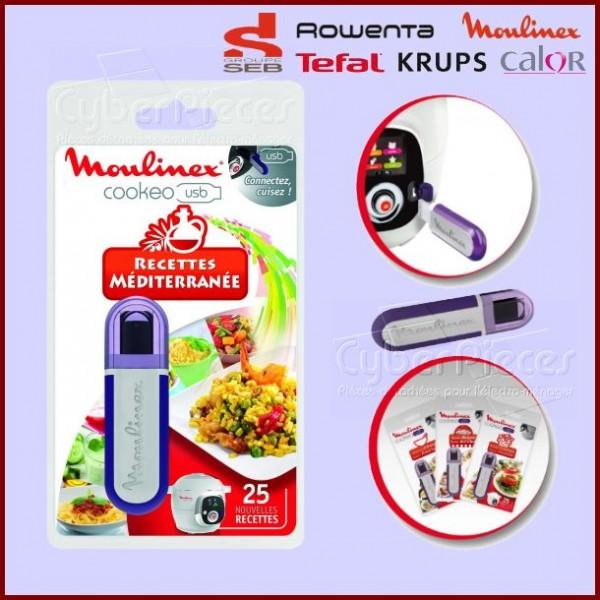 Clé USB Cookeo - Recettes Méditerranéenne Seb XA600011