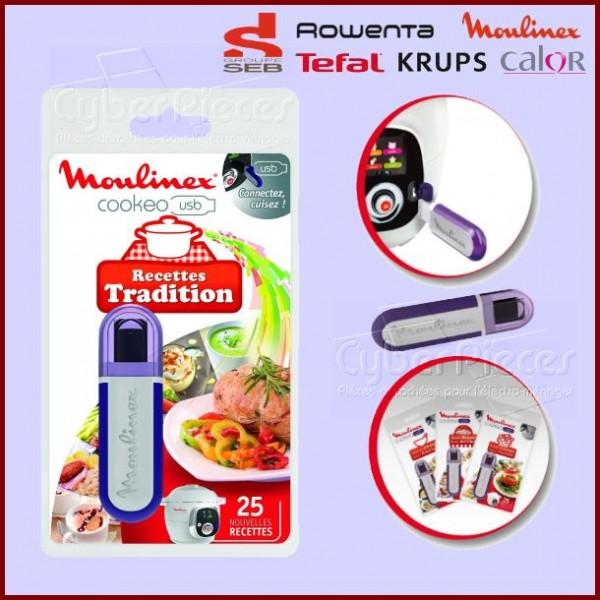 Clé USB Cookeo - Recettes Tradition Seb XA600211