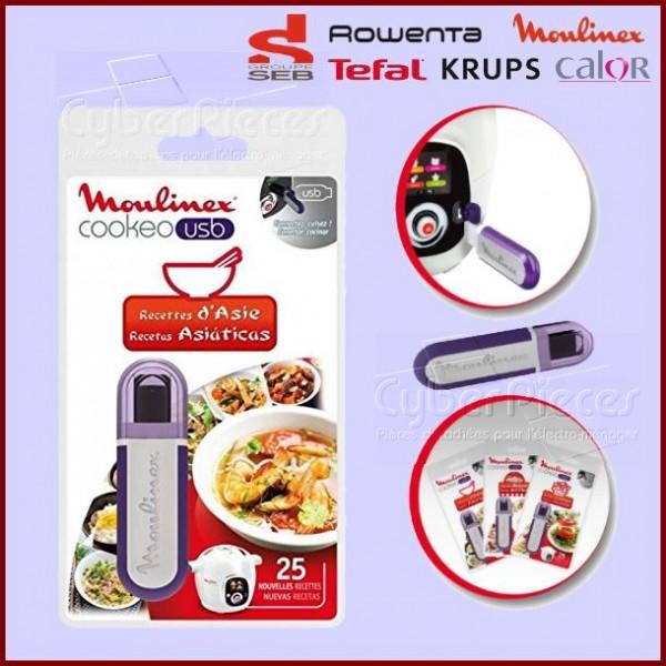 Clé USB Cookeo - Recettes d'Asie Seb XA600311