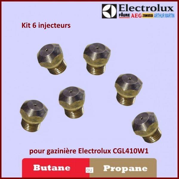 Kit Injecteur Butane / propane pour gazinière Electrolux CGL410W1