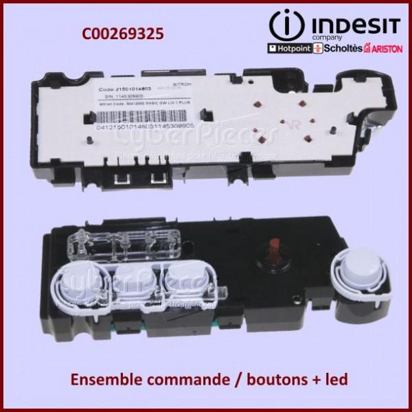 Interface à manette + Led  Indesit C00269325