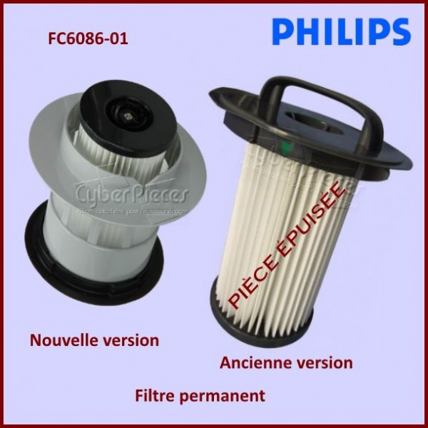 Filtre Permanent FC6086/01 Philips 432200532621
