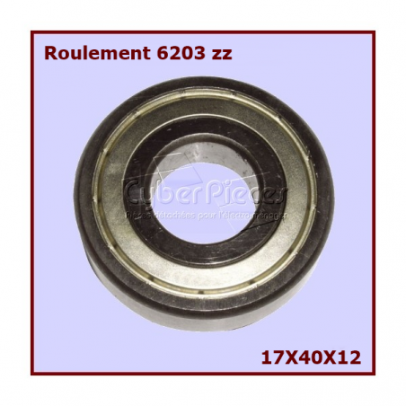 Roulement 6203ZZ - SKF