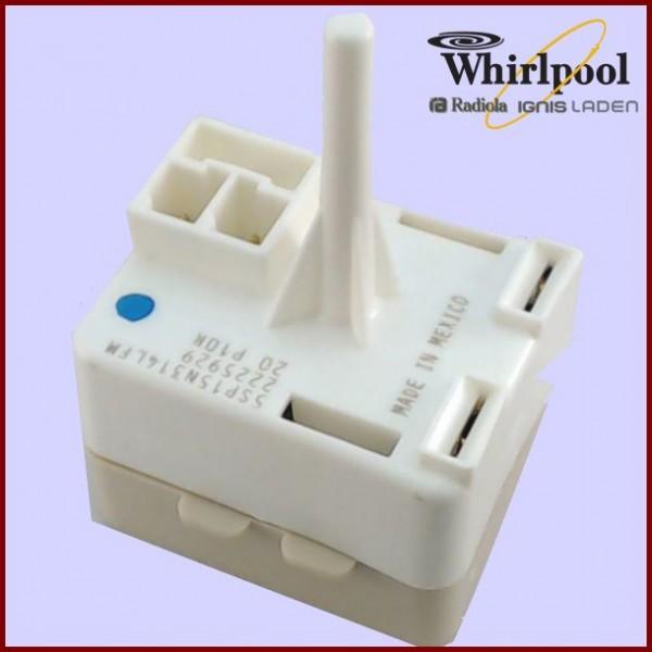 Relais + klixon 2225929 Whirlpool Kitchenaid