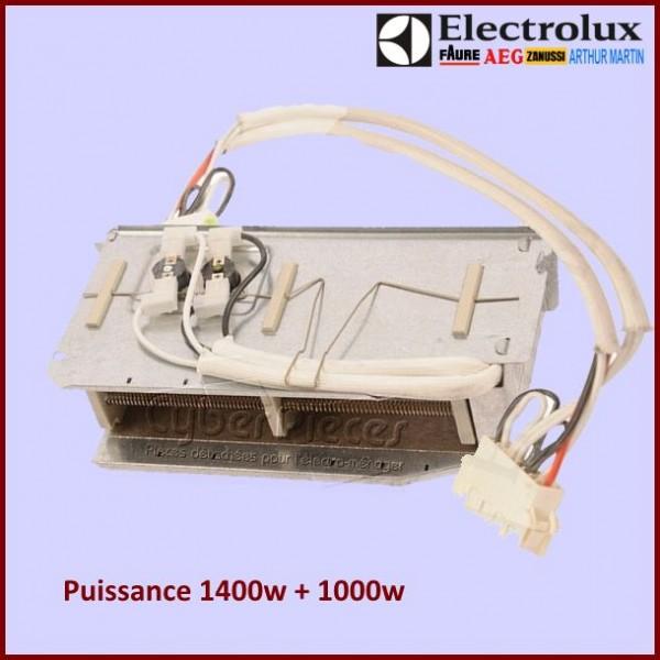 Résistance 1400 + 1000W / 230V  - 1254044157