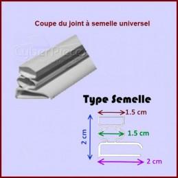 Kit joint magnétique à semelle dimension 1x2m CYB-014465