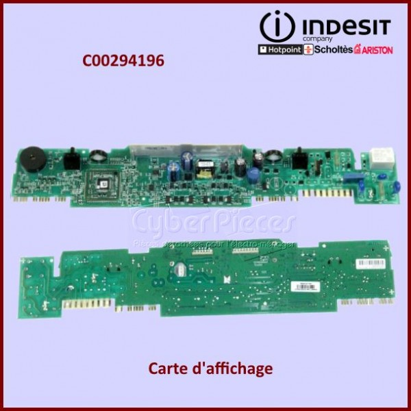 Carte électronique Indesit C00294196