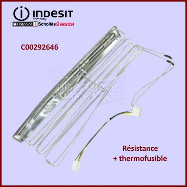 Résistance + thermofusible 180W/72°Indesit C00292646