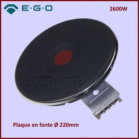 Plaque électrique en fonte EGO 13.22463.120