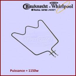 Résistance de Sole 1150W Whirlpool 480121101147 CYB-176316