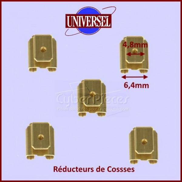 Réducteur Cosse 6,4mm vers 4,8mm (Vendu à l'unité)