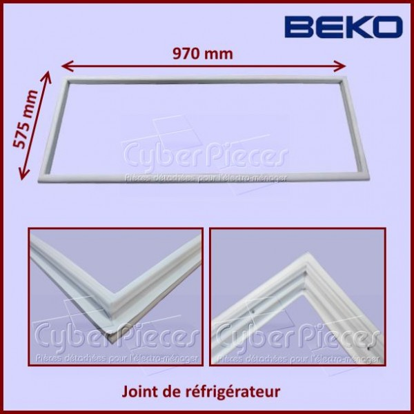 joint de r frig rateur beko 4546850200 pour joints refrigerateurs et congelateurs froid pieces. Black Bedroom Furniture Sets. Home Design Ideas