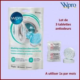 Tablettes nettoyantes antiodeurs pour lave-linge AFR301 CYB-178990