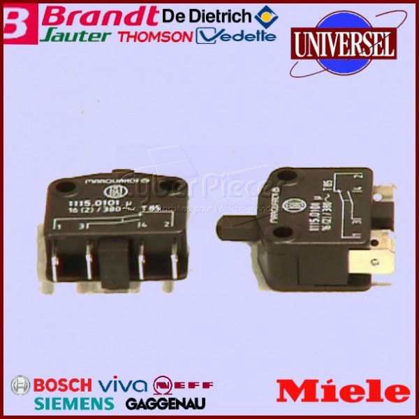Interrupteur Micro-Switch  Miele   953250051