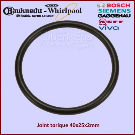 Joint torique 35x3 NBR Whirlpool 481073085082
