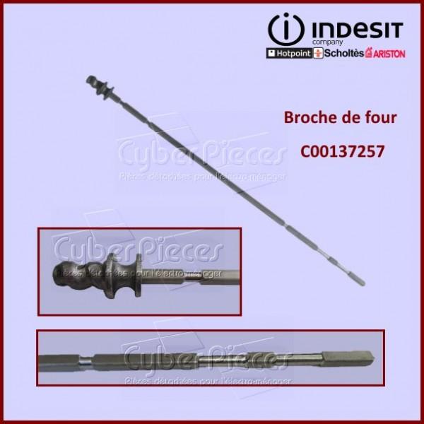 Tige de tournebroche Indesit C00137257