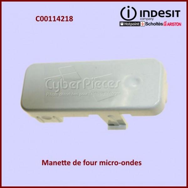 Bouton poussoir blanc Indesit C00114218