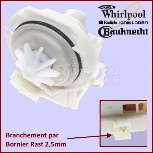 pompe de vidange whirlpool 481010751595 pour pompe de. Black Bedroom Furniture Sets. Home Design Ideas