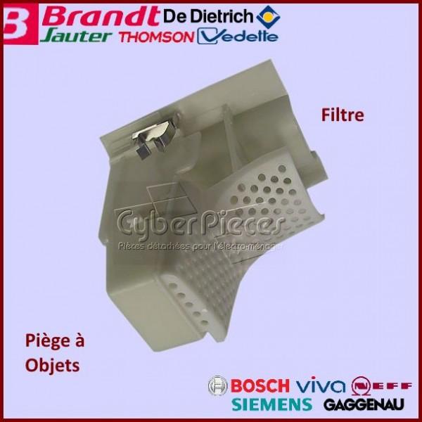 filtre de fond de cuve brandt wtg858300 pour filtres et bouchons machine a laver lavage pieces. Black Bedroom Furniture Sets. Home Design Ideas