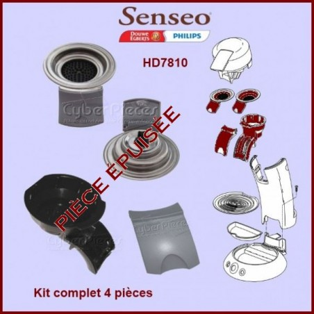 Kit 4 pièces Senseo Gris - 422225928540 ***Kit épuisée***