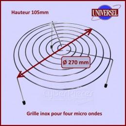 Grille Inox Haute pour...