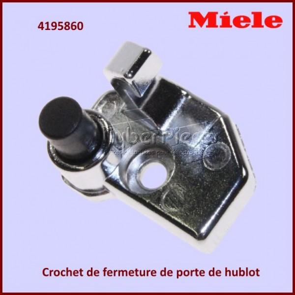 Crochet de fermeture de hublot Miele 4195860