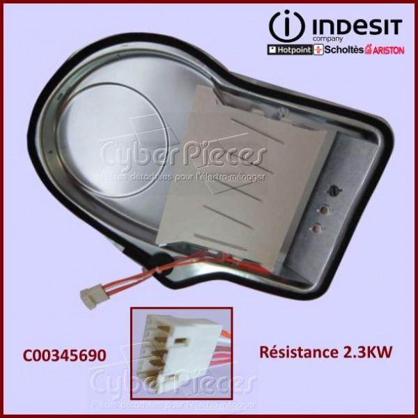 Résistance 2.3KW Indesit C00345690