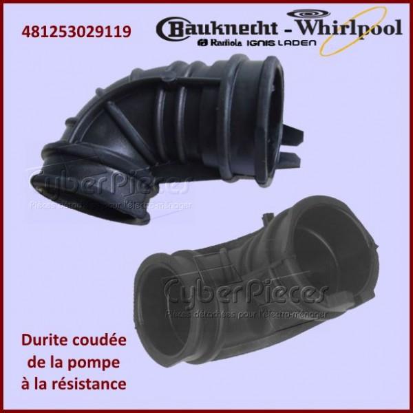 Durite Coudée Whirlpool 481253029119