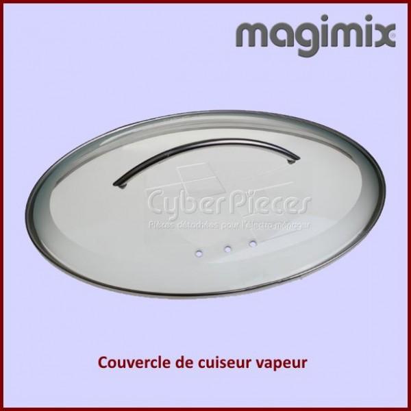 couvercle en verre cuiseur vapeur magimix 505024 pour. Black Bedroom Furniture Sets. Home Design Ideas